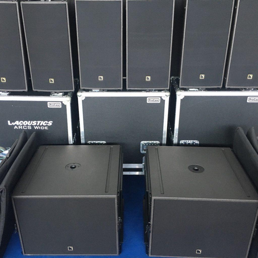 L-Acoustics ARCS WiFo & SB18m
